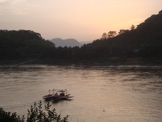 Sunset Over the Mekong River | Luang Prabang, Laos | by LRLTK