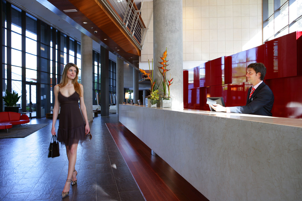Front Desk And Welcoming At The Pullman Barcelona Skipper