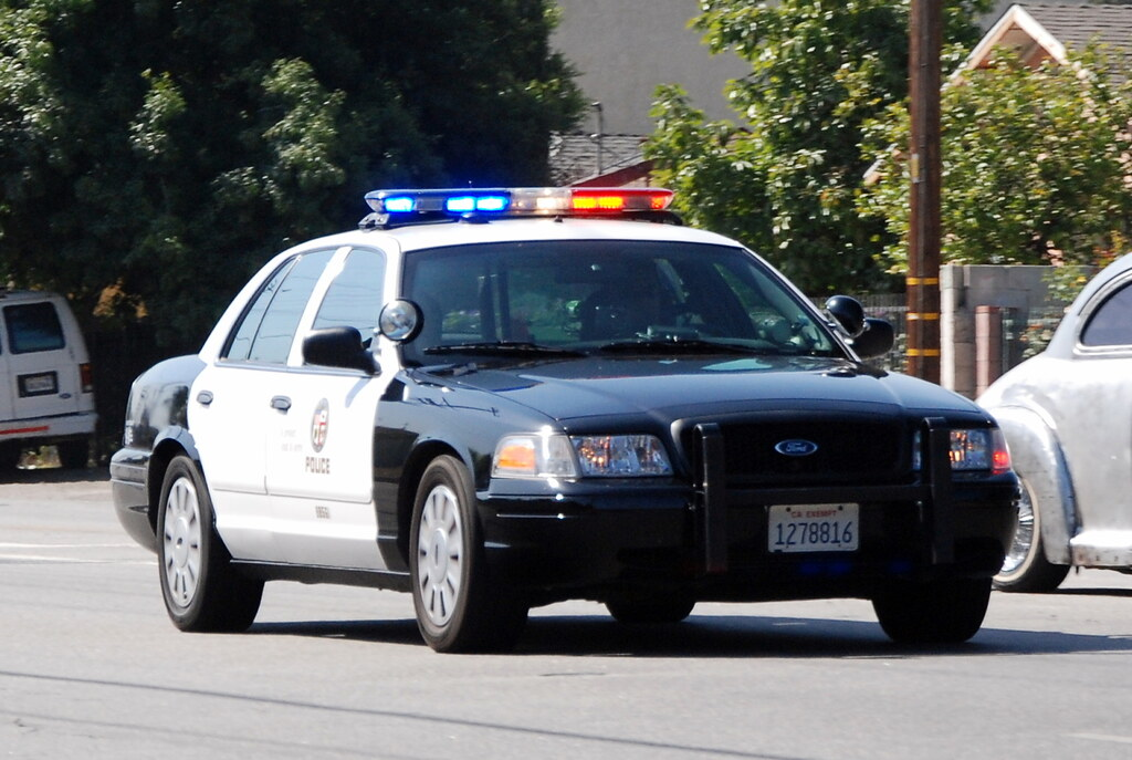 LOS ANGELES POLICE DEPARTMENT (LAPD) | One of several LAPD p… | Flickr