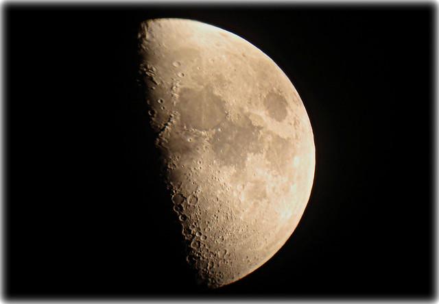Luna creciente. 20-06-2010