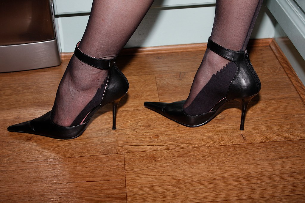 Heels And Seams  My Wife And Her Stilettos  Andy -8246