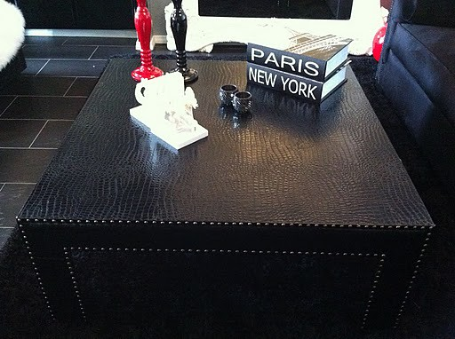 Coffee Table Croc Studded In Black Shawna Johnson Flickr - Studded coffee table