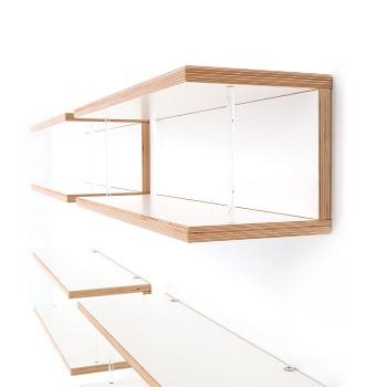 cd regal storit weiss cd board white plywood cd regal zu flickr. Black Bedroom Furniture Sets. Home Design Ideas