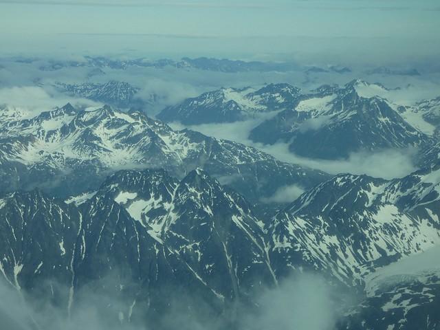 Paisaje de Alaska (Lake Clark National Park)