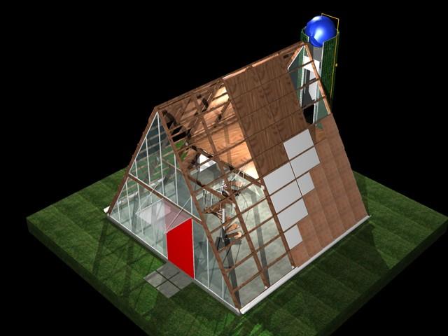 Casa ecol gica prefabricada img 11 el art fice i igo - Casa ecologica prefabricada ...