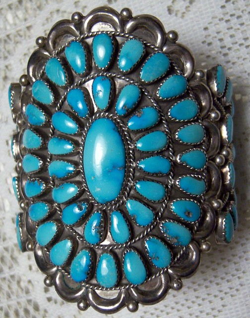 jewelry genuine turquoise bracelet made by arizona