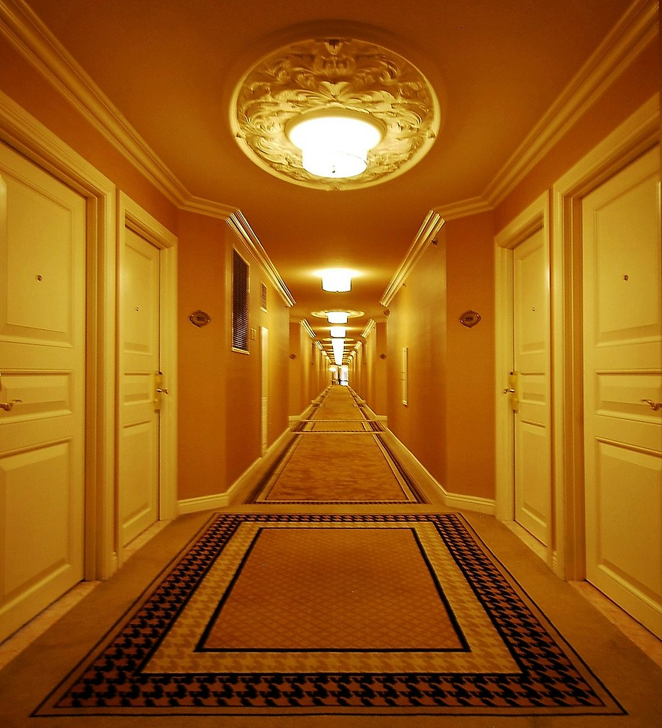 Hallway In Paris Hotel Amp Casino Las Vegas No Getting