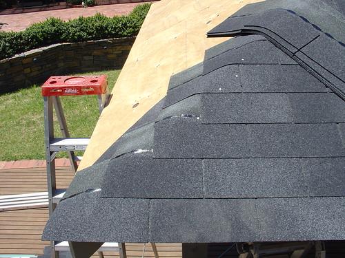 Building The Gazebo Asphalt Shingles Www Diy Roofing Com