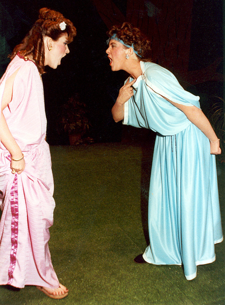 """Compare and Contrast Helena and Hermia in """"A Midsummer Night's Dream"""""""