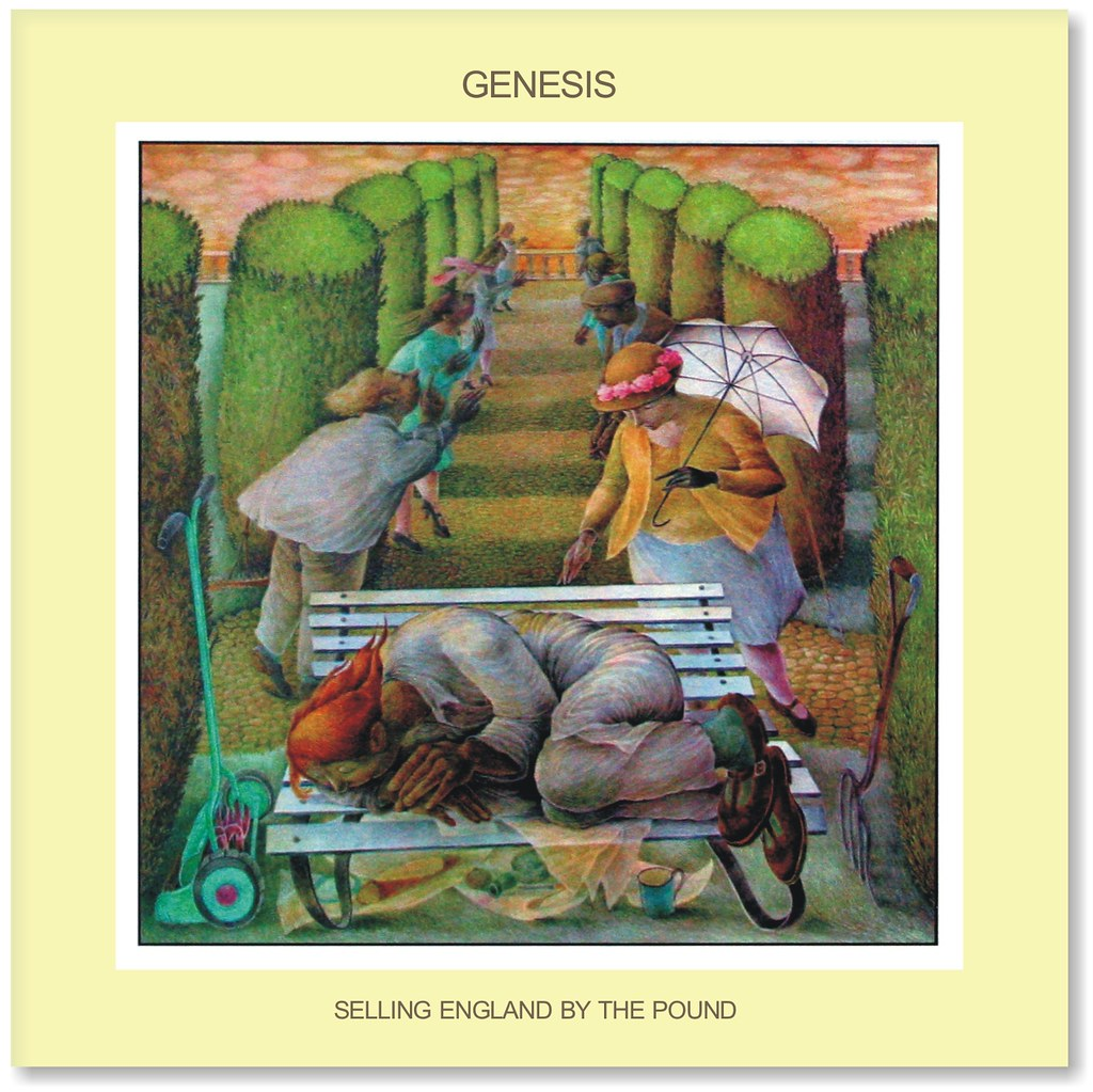 Genesis Selling England By The Pound Genesis Selling