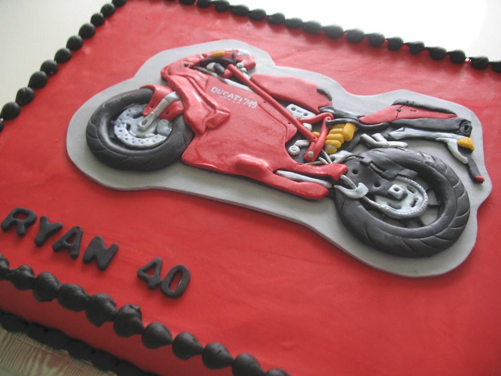Cake Art Motorcycle Cake Pan : Ducati Motorcycle Cake www.beautifulcakeschicago.com ...