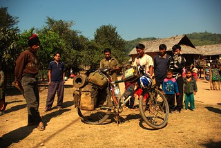 Hill Tribe Village on the Mekong Northern Laos/Myanmar Border | by The Hungry Cyclist