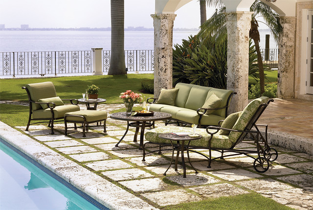Winston outdoor furniture sea villa cast beautiful for Muebles para terraza y jardin