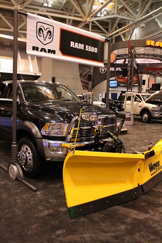 Ram 5500 Upfitted With Meyer Snow Plow Rugged Ram 5500