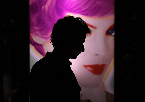 Dylan-esque Silhouette - Beauty Bar NYC | by ChrisGoldNY