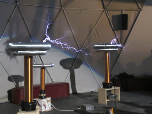 Musical tesla coils | by Rain Rabbit