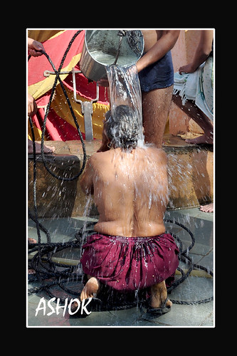 the holy bath | by ashok monaliesa