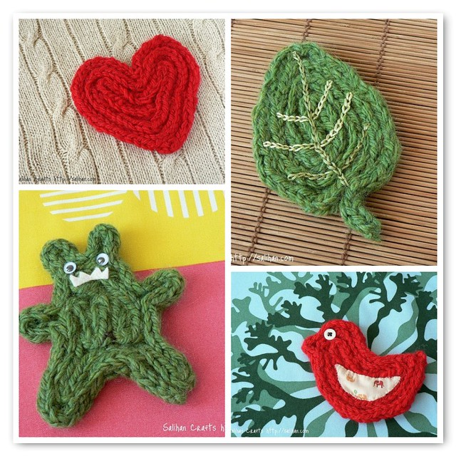 Knitting Nancy Patterns : Knitted i cord coasters tutorial available here flickr