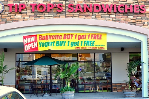 TIP TOP'S SANDWICHES | by Cathy Chaplin | GastronomyBlog.com