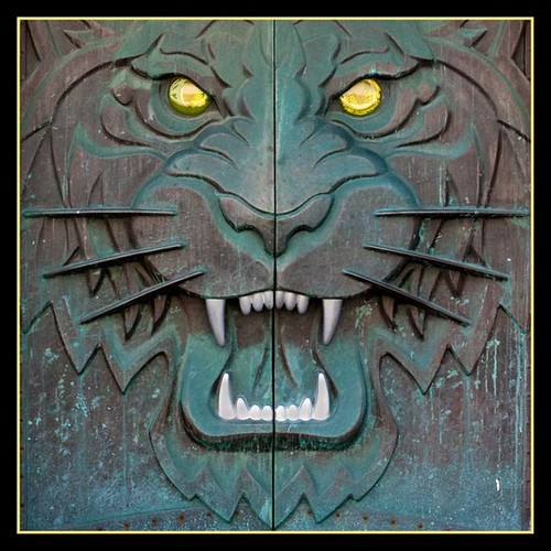 ... Tiger Den door | by Go Sport Photos & Tiger Den door | Entrance door to the Tigers Den Comerica Pu2026 | Flickr