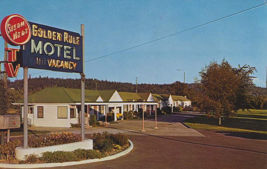 Golden Rule Motel - Tacoma, Washington