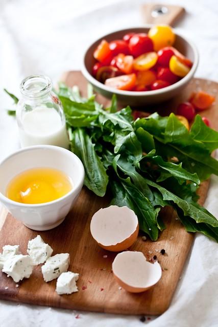 Savory Tart Ingredients