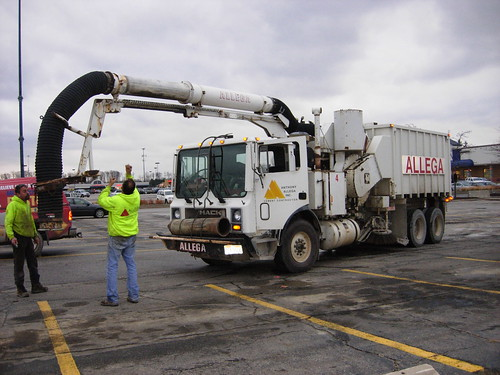 Huge Vacall Sweeper Truck A Mack Mr Vacall Street
