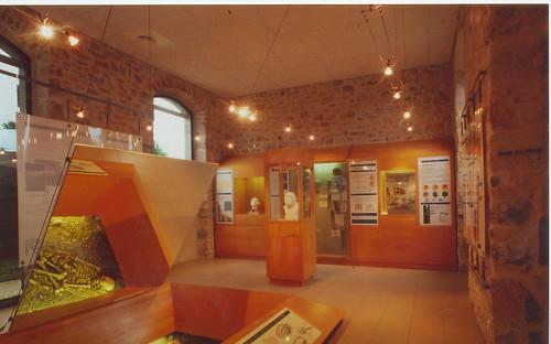 Interieur du mus e de l 39 homme de neandertal de la chapelle for L interieur du char de vimoutier