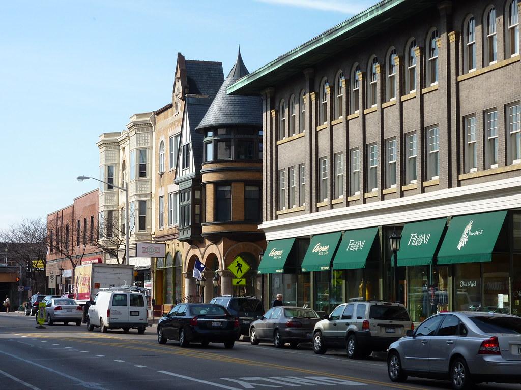 Oak Park Il Avenue Business District Get A Fresh Take O Flickr