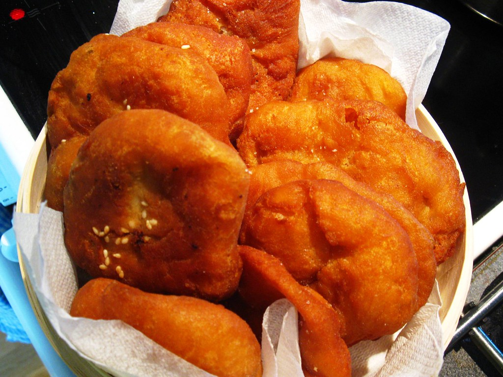 Fried Sweet Donuts Chinese Fried Sweet/salted