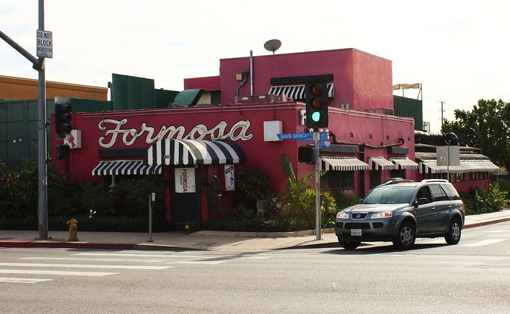 Formosa Cafe Los Angeles Menu
