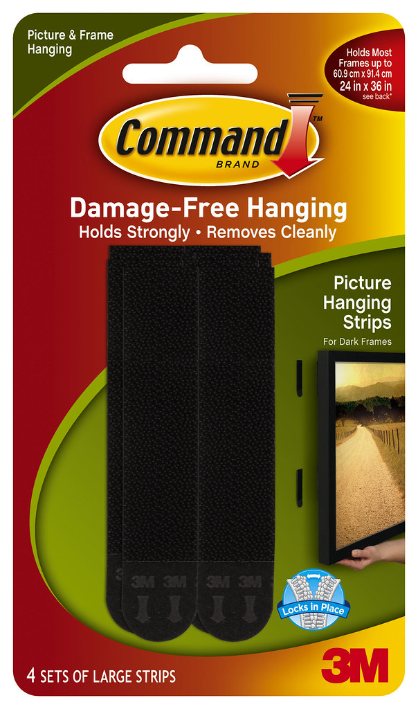 Command Large Picture Hanging Strips For Dark Frames 17206 Flickr