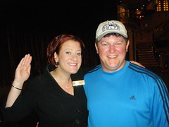 Brian and Cruise Director Jen on the Carnival Legend | by Carnival Cruise Lines
