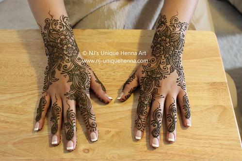 Bridal Mehndi Rates Nj : Juwayriya s bridal henna hands nj unique ar