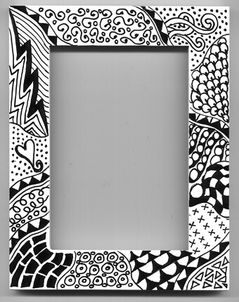 printable frames black and white - Ecza.solinf.co
