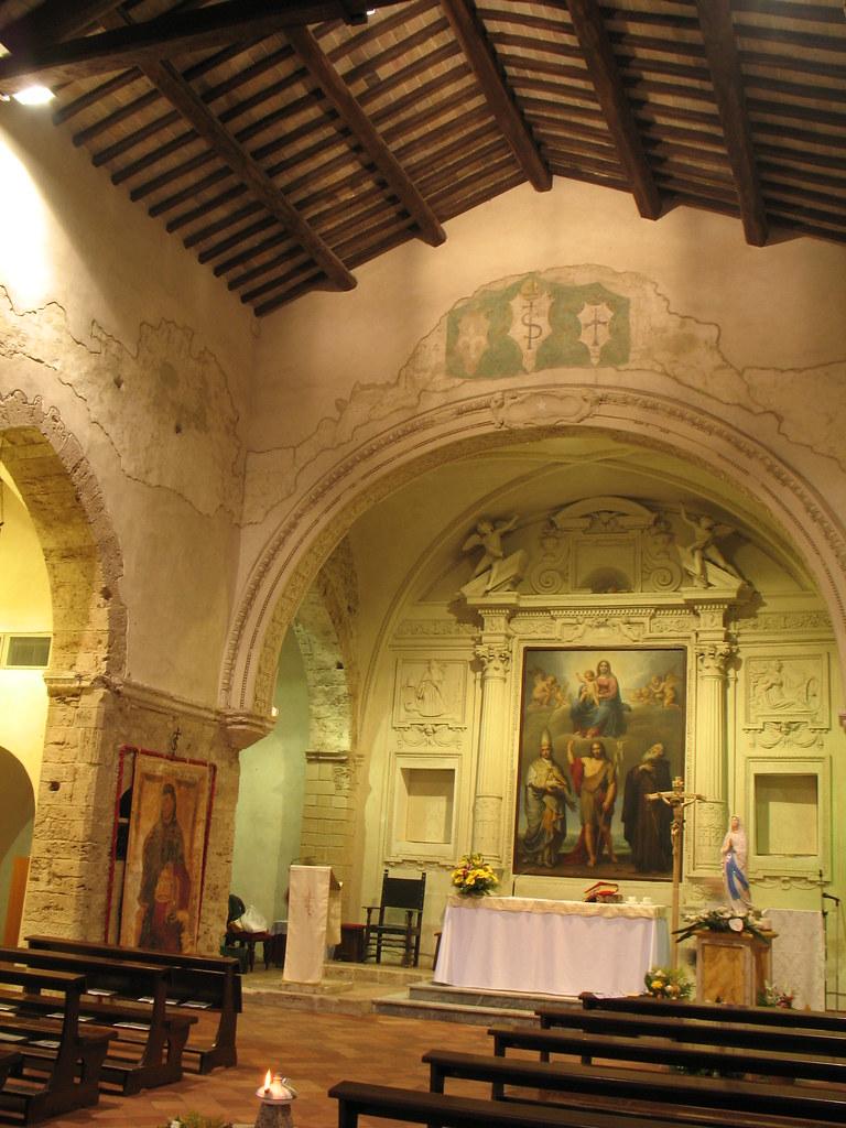 Ferentino monastero di sant 39 antonio abate sul colle for Arredo bimbo sant antonio abate