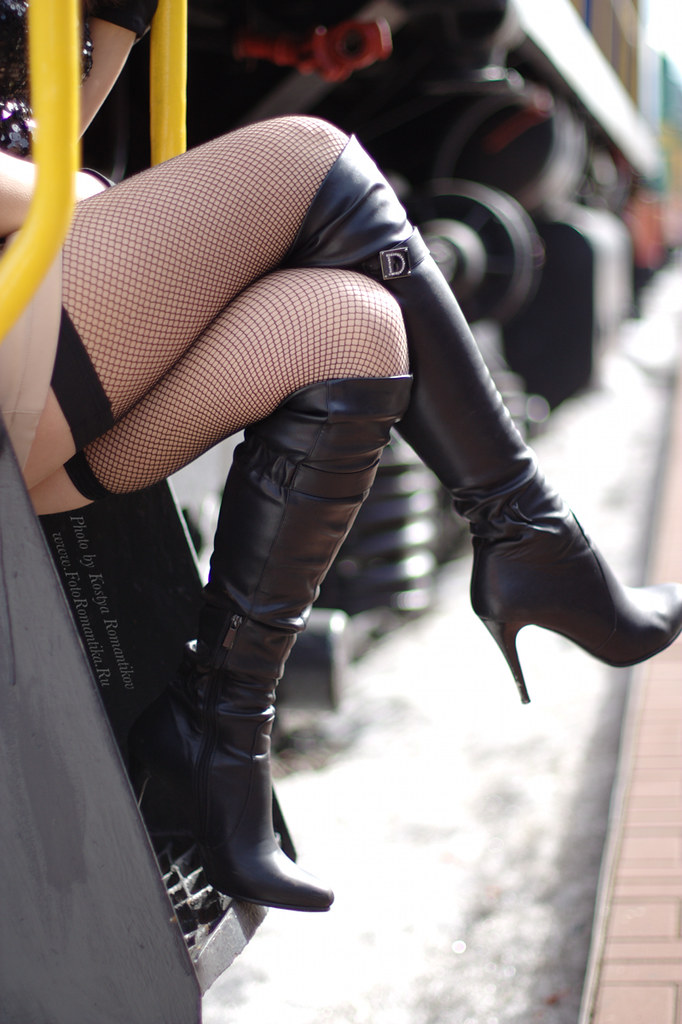 Stockings and boots tumblr