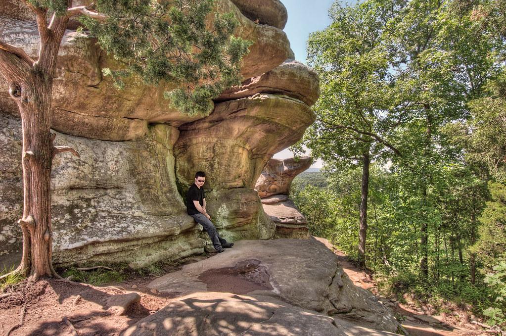 inside garden of the gods shawnee national forest in the ozark and - Shawnee National Forest Garden Of The Gods