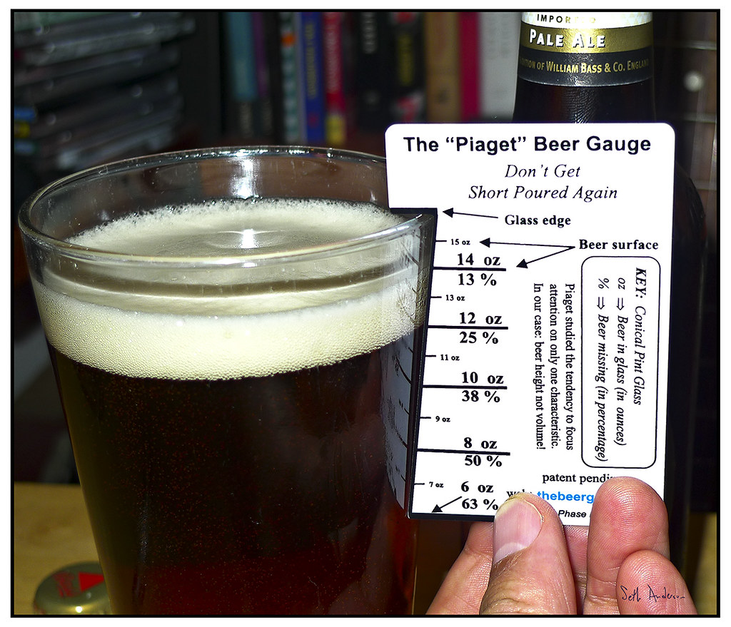 Piaget Beer Gauge Tested Out On A 12 Oz Bottle Of Bass