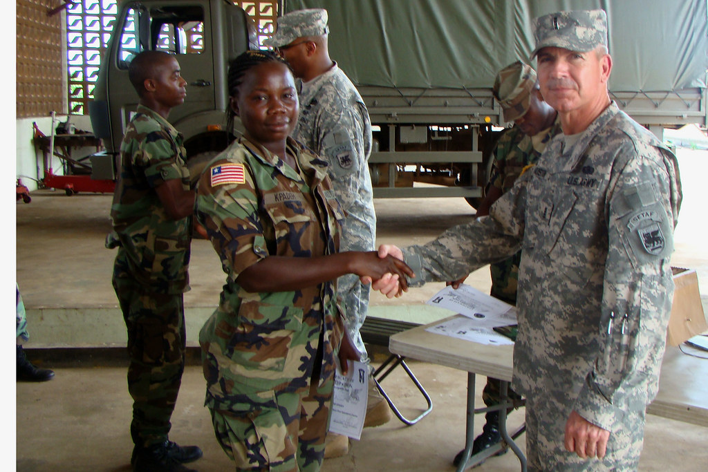 u s  army africa familiarization event on maintenance for