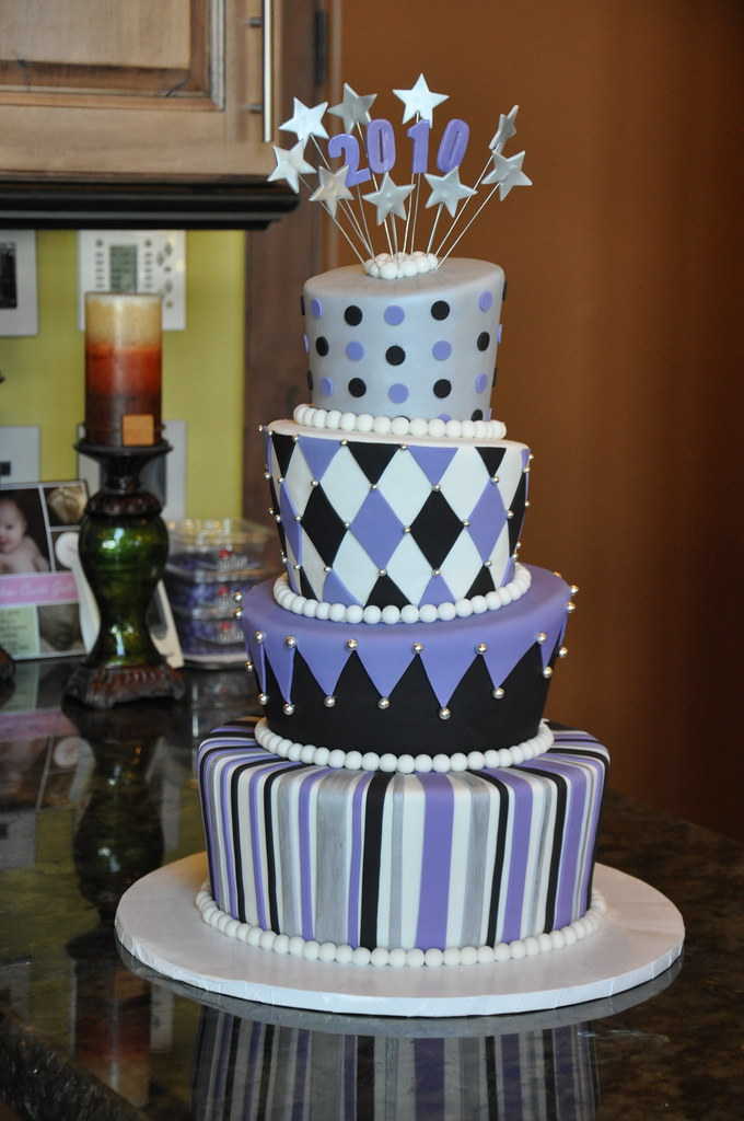 Topsy Turvy Graduation Cake By Designer Cakes April