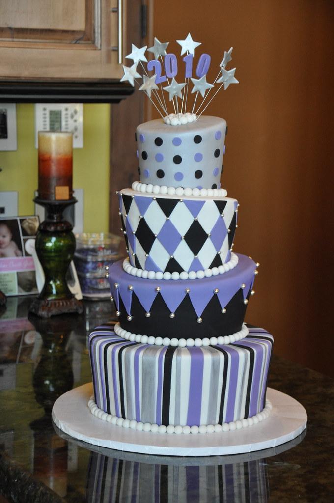 Topsy Turvy Graduation Cake By Designer Cakes April