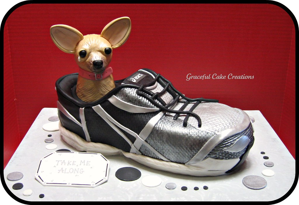 Running Shoe Cake with...