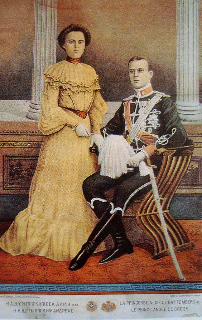 Princess Alice and Prince Andrew of Greece and Denmark ...