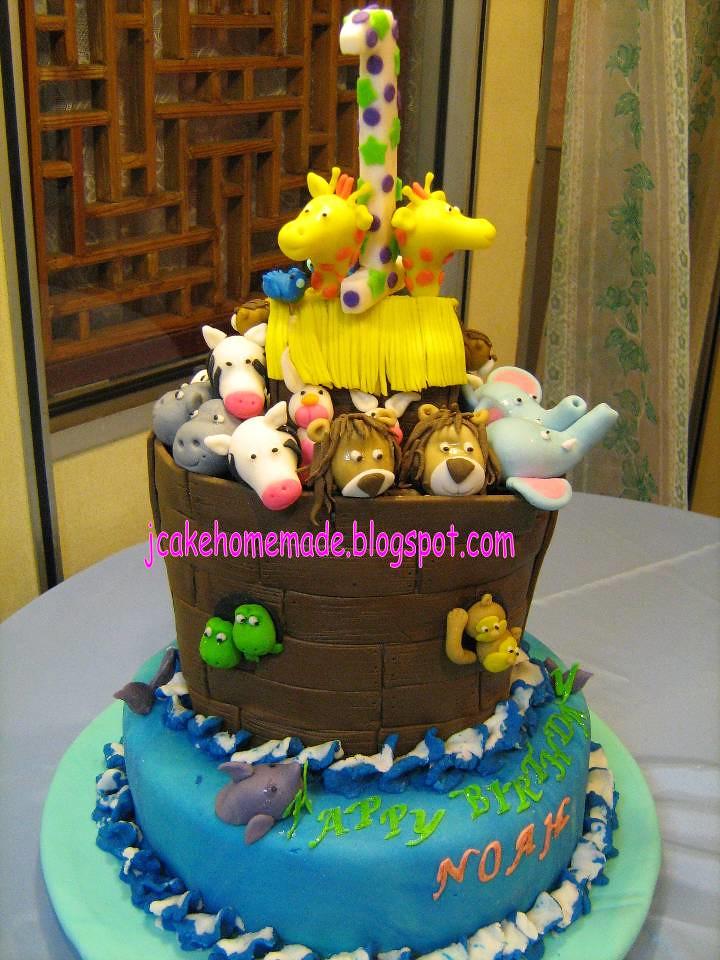 St Birthday Cakes Noahs Ark