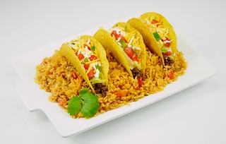 Tacos and Spanish Rice | by TheCulinaryGeek