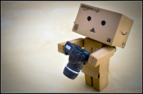 Danbo Arrives in the World with his Canon | by Chris J Bowley