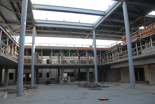Broome Library during construction | by California State University Channel Islands