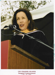 Staff Presenting at 2003 Graduation | by California State University Channel Islands