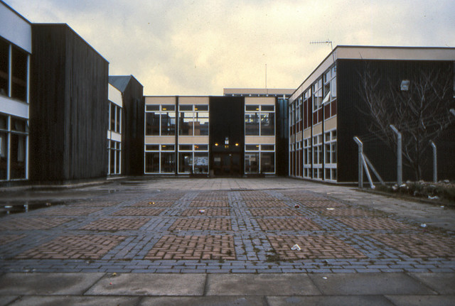 main entrance edlington comprehensive school j block